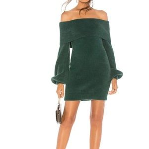 Tularosa Sweater Dress, Revolve Gramercy Green NWT
